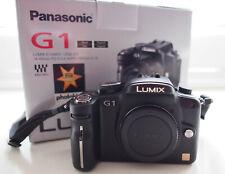 Panasonic Lumix G1 12.1 MP Micro 4/3 corps. COFFRET.