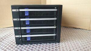 """ICY DOCK  (IcyBox) Wechselrahmen / Bay für 4 x 3,5"""" HDD / SSD* in 3 x 5,25"""""""