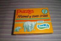 PUZZLES NESTLE CHAMBURCY MAMA Y SUS CRIAS 1