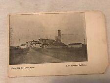PAGE MILK CO. Vintage Postcard, UBLY MICHIGAN