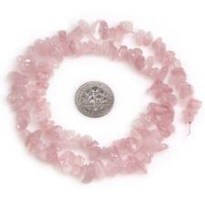 "4-7mm pink quartz loose beads strand gemstones jewelry freeform#16"""