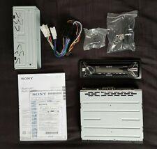 Sony MEX-N5100BT Bluetooth/Aux/USB/CD/Radio Car Audio System + Adaptor Cables