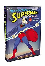 SUPERMAN & FRIENDS REMASTERED ANNIVERSARY COLLECTION NEW 2 DVD (68 CARTOONS)