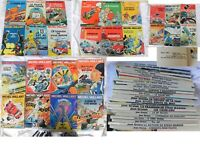 MICHEL VAILLANT - jean graton - journal de tintin - 26 VOLUMES de 1965 à 1975