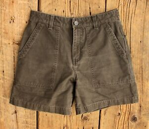 Vintage Patagonia Organic Cotton Shorts in Dark Brown Size 4 28x6