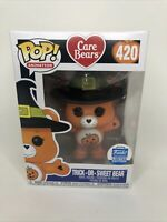 Funko Pop! Care Bears Halloween Trick Or Sweet Bear Funko Shop Exclusive