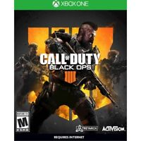 Call of Duty Black Ops 4 IIII IV (Microsoft Xbox One 2018) Brand New Sealed