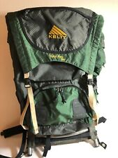 Kelty Yukon Reg 2900 Backpack Sz 2 External Frame Green Black Hiking Scouting