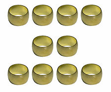 8mm Brass Olives (10 Pack) For Compression Plumbing Fittings