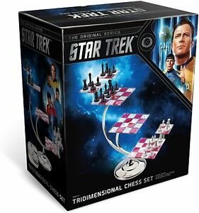 Star Trek Tri-Dimensional Chess Set on 7 Levels The Noble Collection