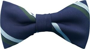 Royal Corps Of Signals Striped Pre Tied Bow Tie  Regiment RCS