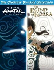 Avatar & The Legend of Korra Complete Series Collection (DVD,2019)