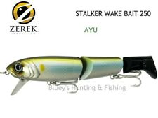 Zerek Stalker wakeBait 250 jointed cod fishing Lure col; AYU