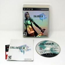 Final Fantasy XIII - Complete Black Label - Excellent Condition (PS3, 2010)