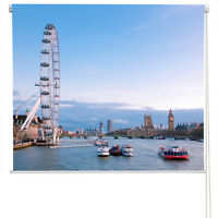 LONDON EYE AND WESTMINSTER  printed roller blind Any Size