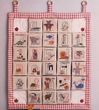 Fanci That  ALPHABET KINGDOM  Cross Stitch Leaflet Only ~ Folk Art Collection