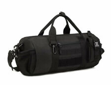 Tactical Duffle Cylinder Pack MOLLE Handbag Gear Military Shoulder Messenger Bag