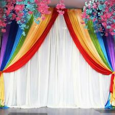 New! 20' Wide x 10' high Party Decor Rainbow Backdrop Background