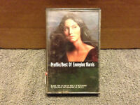 Profile: Best of Emmylou Harris Country/Folk/70s Cassette Tape Album 78