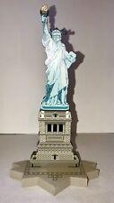 1998 SHELIA'S STATUE OF LIBERTY WOODEN SHELF FIGURINE, NEW YORK, NY, SIGNED