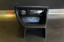 Honda Civic MK2 CRX 1.6VT Centre Console - Black