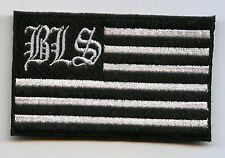 BLACK LABEL SOCIETY BLS IRON-ON BLS FLAG PATCH NEW ZAKK WYLDE BLACK LABEL