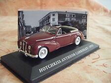 VOITURE HOTCHKISS ANTHEOR CABRIOLET 1953 1/43EME NEUF EN BOITE