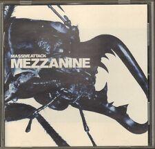 Massive Attack MEZZANINE 11 track CD NEW 1998