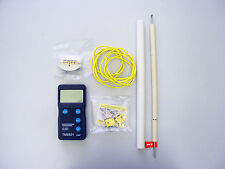 High temperature thermometer pyrometer for reducing environment gas kiln