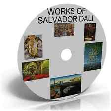Obras de Salvador Dali,1800 + foto imágenes Pintura, Surrealismo, Fantasy Art Cd