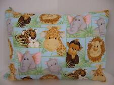 Pillowcase Jungle Babies Child Toddler Cot Size 100% Cotton