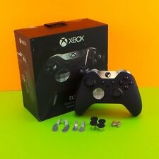 Microsoft Xbox Elite Wireless Black Controller Xbox One Model 1698 in Box #4554s