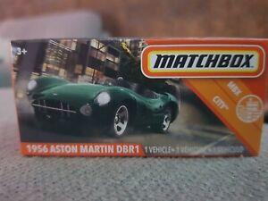 2020 Matchbox 1956 ASTON MARTIN DBR1, MBX CITY series 73/100. NEW!