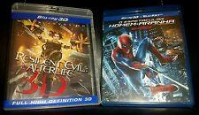 Resident Evil: Afterlife: 3D/ Spider-Man: 3D +  Collectors 3D Passive Glasses