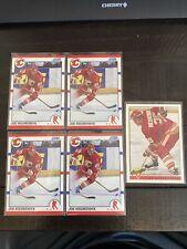 5 Card Joe Nieuwendyk Lot. x4 1990 Score #30, x1 1993 Premier #205