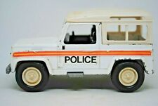 1:32 Britains / ERTL Special LAND ROVER DEFENDER 90 POLICE / Farm Vehicle GC