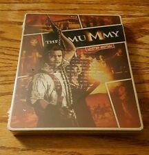 The Mummy (Blu-Ray & DVD, Limited Edition) steelbook case Brendan Fraser NEW