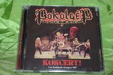POKOLGEP Koncert! 2CD Live 1987 + demos OOP Rare Ossian Omen Kalapács Acid