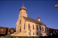 historic structures-Churches-St.Vladimir Ukrainian Ch. @ Palmerton Pa.Fuji slide