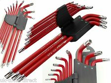 9pc Extra Long Security Tamper Proof Torx Star Tool Set S2 T10-T50