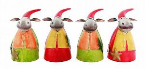 Zaunhocker Weihnachten Esel mit Stern/Baum (216930e) NEU Weihnachtsdekoration