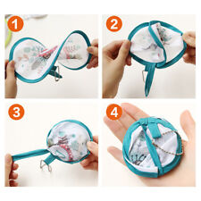 1pc Portable Round Japanese Style Folding Fans Hand Fan for Wedding Party FO
