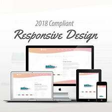 2018 Compliant Mobile Responsive Ebay Auction Listing Template Champagne Curves