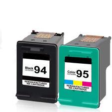 2PK HP 94 Black/95 Tri-color Remanufactured Ink Cartridge Bundle