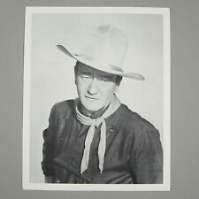 John Wayne 1962 THE MAN WHO SHOT LIBERTY VALANCE 8x10 B&W Photo Card Paramount