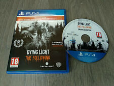 Dying Light - The following - Enhanced Edition - JUEGO FÍSICO PS4 - PERFECTO EST