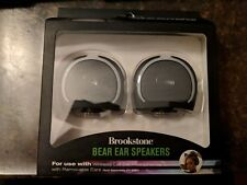 BROOKSTONE —-Bear Ear Speakers for Cat Ear Headphones