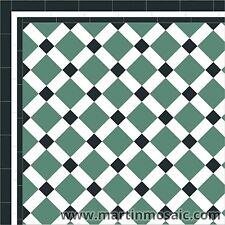 Unglazed Victorian floor tiles interior & exterior £140.00sqm²