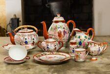 """Un Service à thé et à café porcelaine du Japon  """"Vintage Geisha Girl"""" 78 Pièces"""