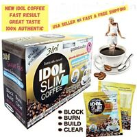 1BOX IDOL NEW SLIM COFFEE POWDER DRINK INSTANT DIET WEIGHT LOSS. USA SELLER